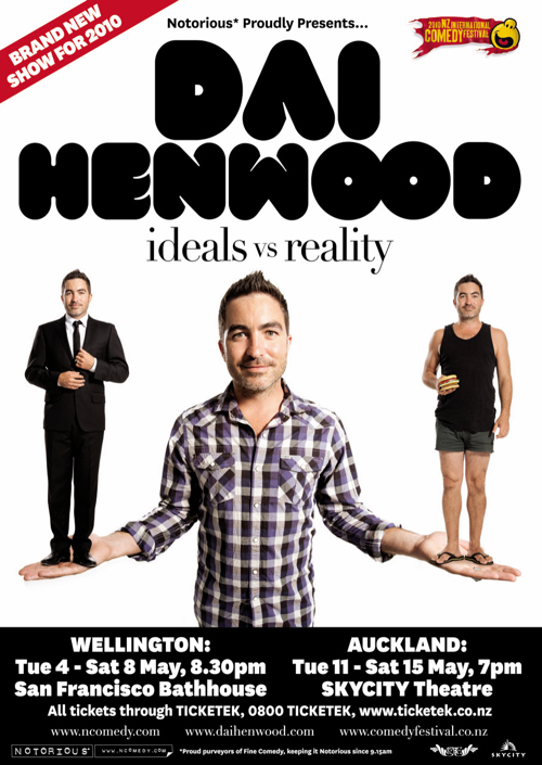 Dai Henwood Ideals vs Reality 2010