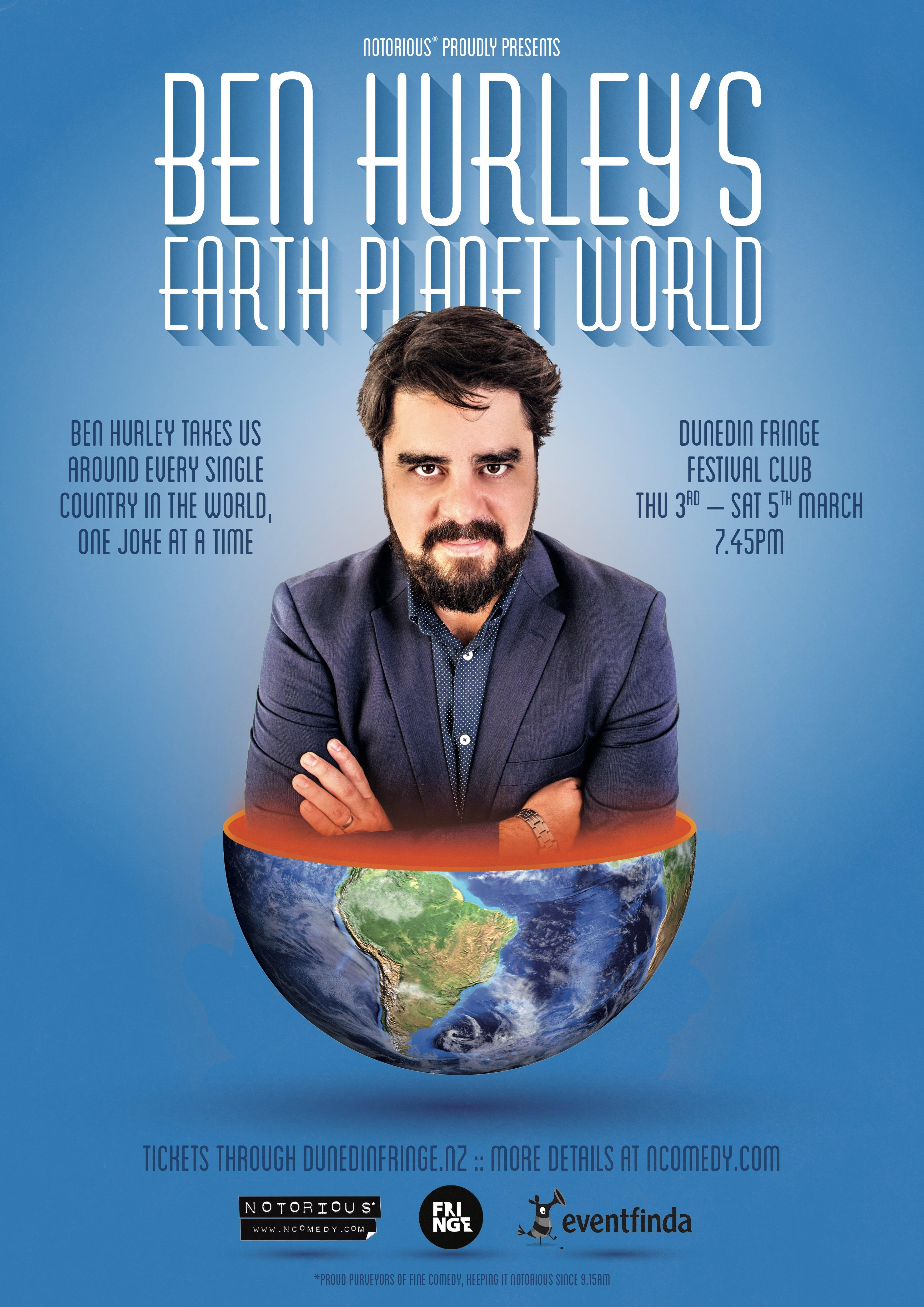 44.1 Ben Hurley EPW Dunedin Fringe poster