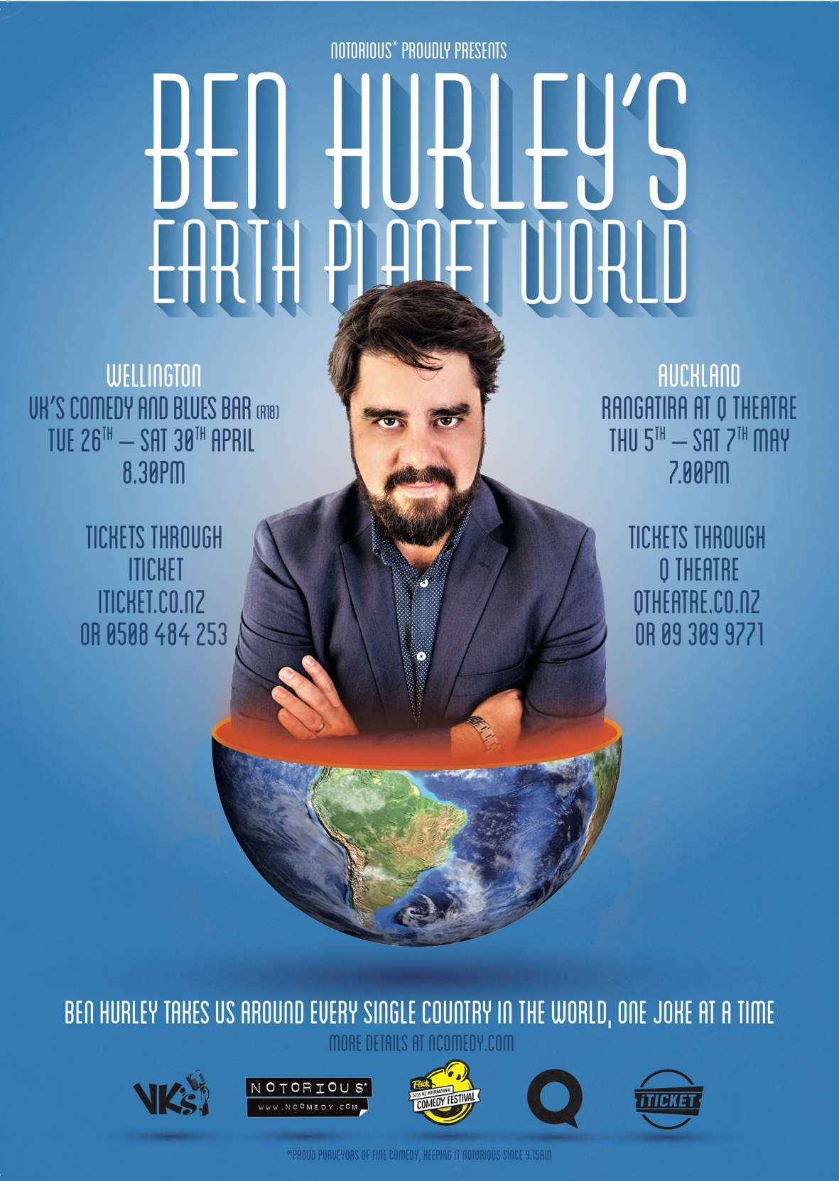 45 Ben Hurley Earth Planet World 2016