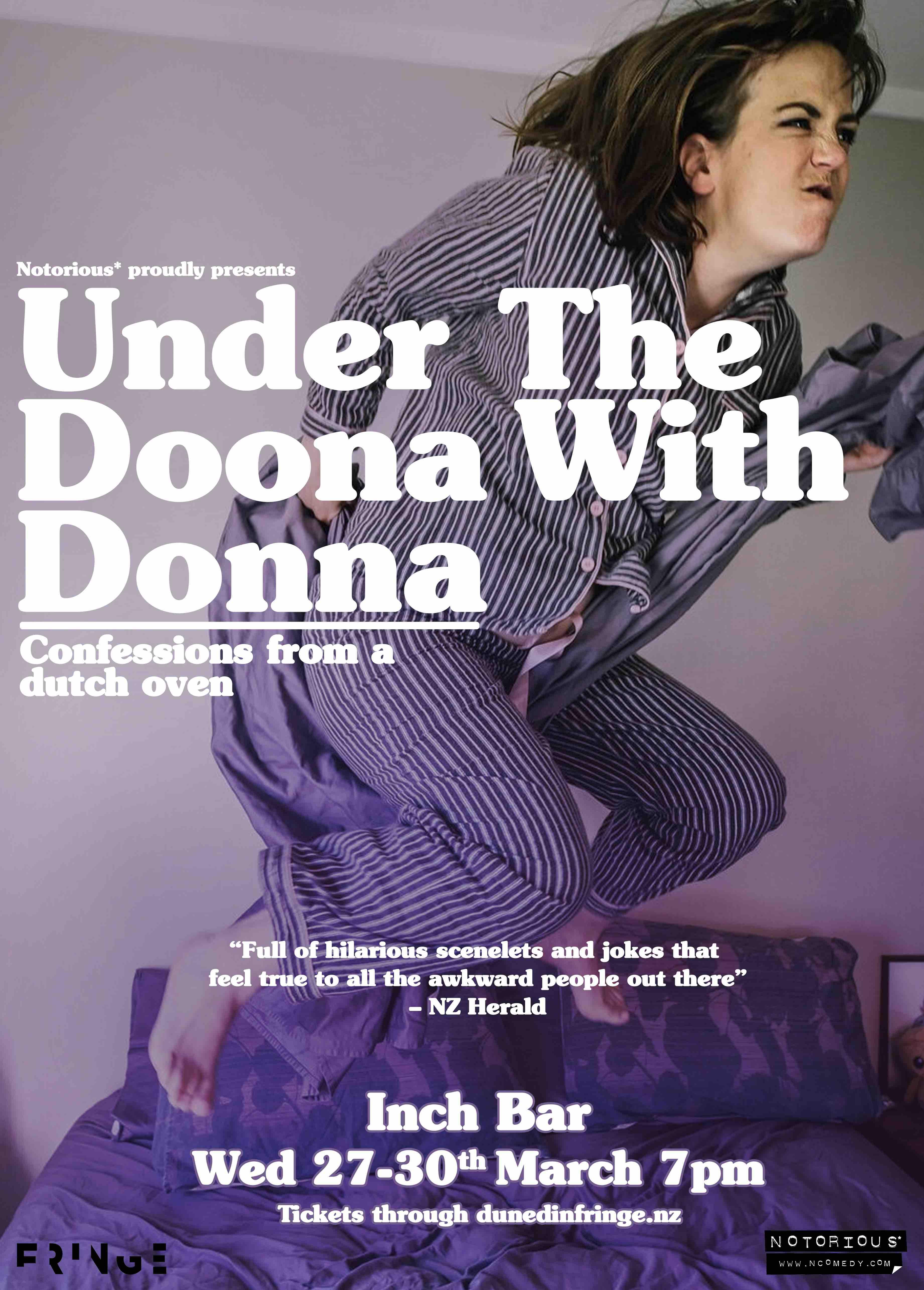 76 Donna Brookbanks Dunedin Fringe 2019.