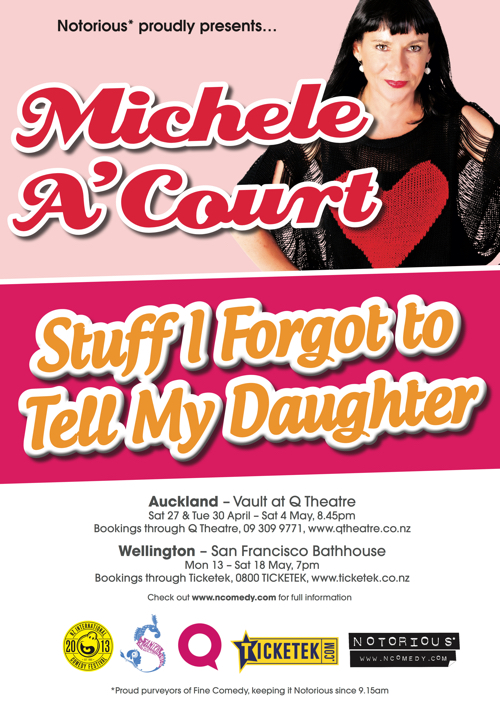 Michele ACourt Stuff I Forgot To Tell My Daughter 2013
