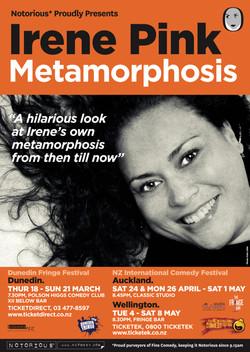 Irene Pink Metamorphosis 2010