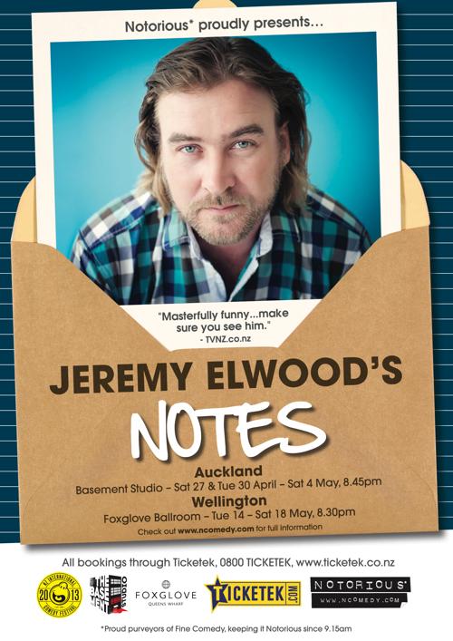 Jeremy Elwood 2013