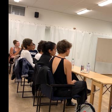 Workshop in Stockholm, Sweden