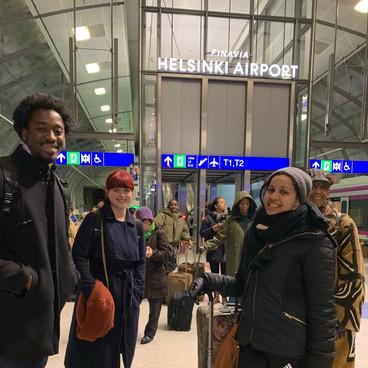 Traveling to Stockholm, Sweden