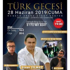TÜRK GECESI I Menden Arena Event Center
