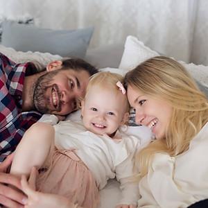 Nadine és kis családja