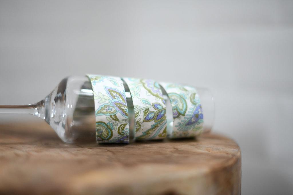 Ruban Batik vert - Panames & Co - Modalova