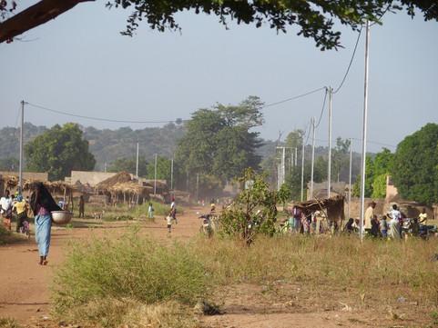 L'électricité arrive à Gon Boussougou