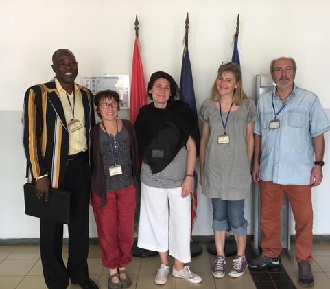Séjour de l'association à Gon Boussougou