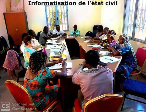 Mission à Gon-Boussougou, novembre 2019
