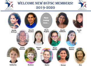 Congratulations to BVFSC Skaters for all of Your Accomplishments This Year & Welcome New Members