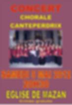 chorale canteperdix de mazan