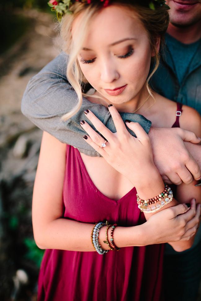 Devon + Chris | Fall Boho Engagement | Mr. + Mrs. Walker | Hendersonville, Tn
