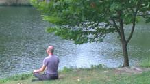 meditáció valahol Ausztriában a határ mellett