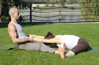 Csípőnyitó jóga páros gyakorlat