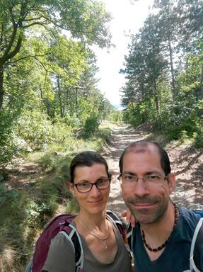 erdőben, együtt