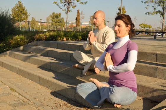 Purusa, Vitai Kati, meditáció