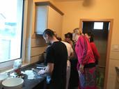 Chapati készítés