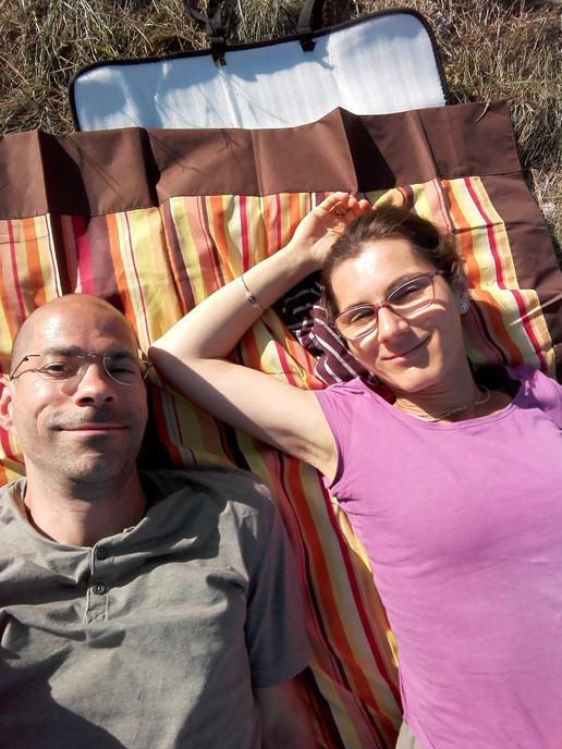 Kati és Purusa Pilistető relax