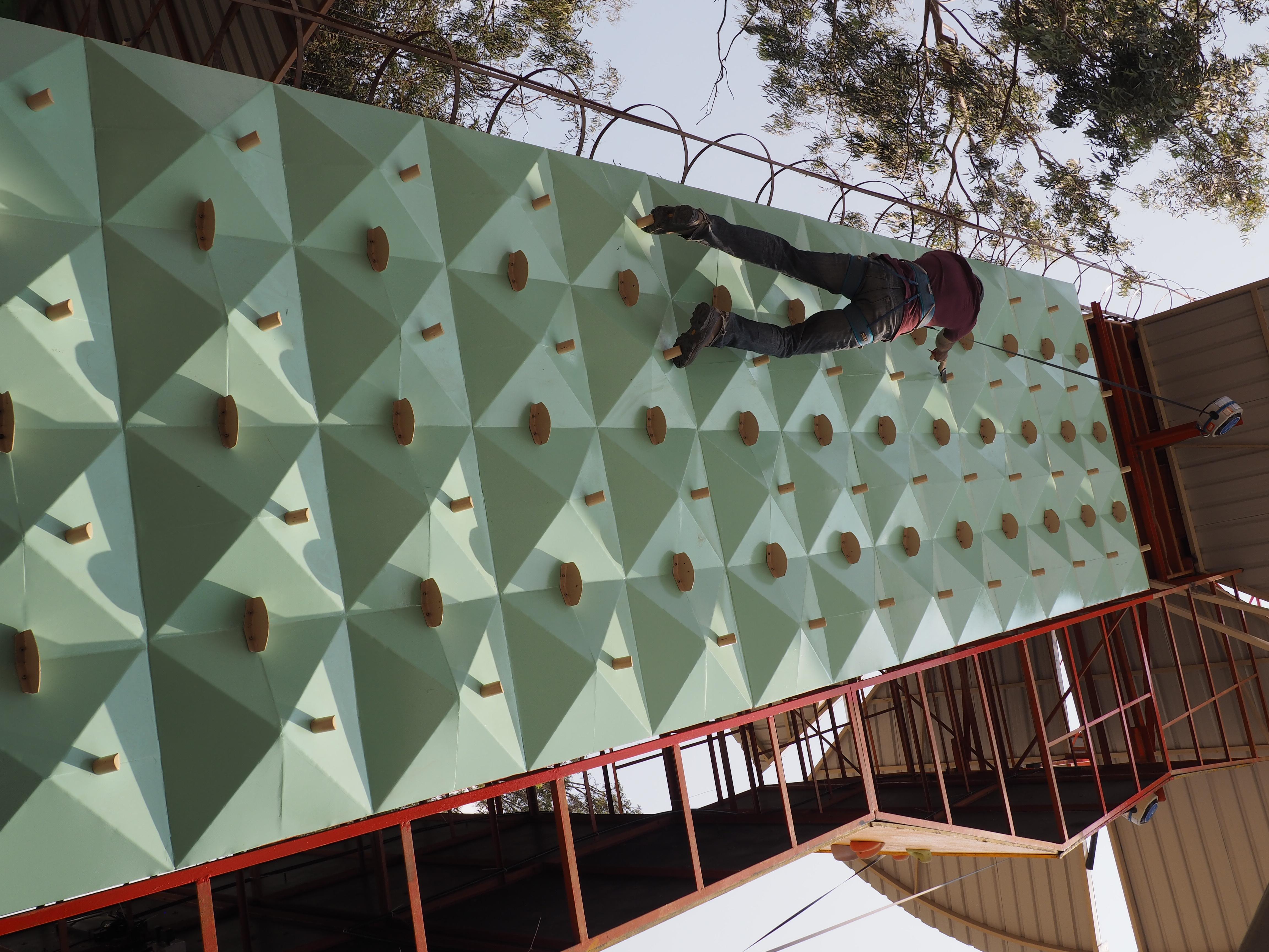 Ice Climbing Theme Wall