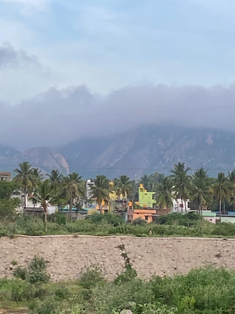 View of BM betta from Kanakpura