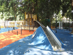 Mound with Slide and Tunnel