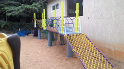 Ropes course for 2-5 year olds