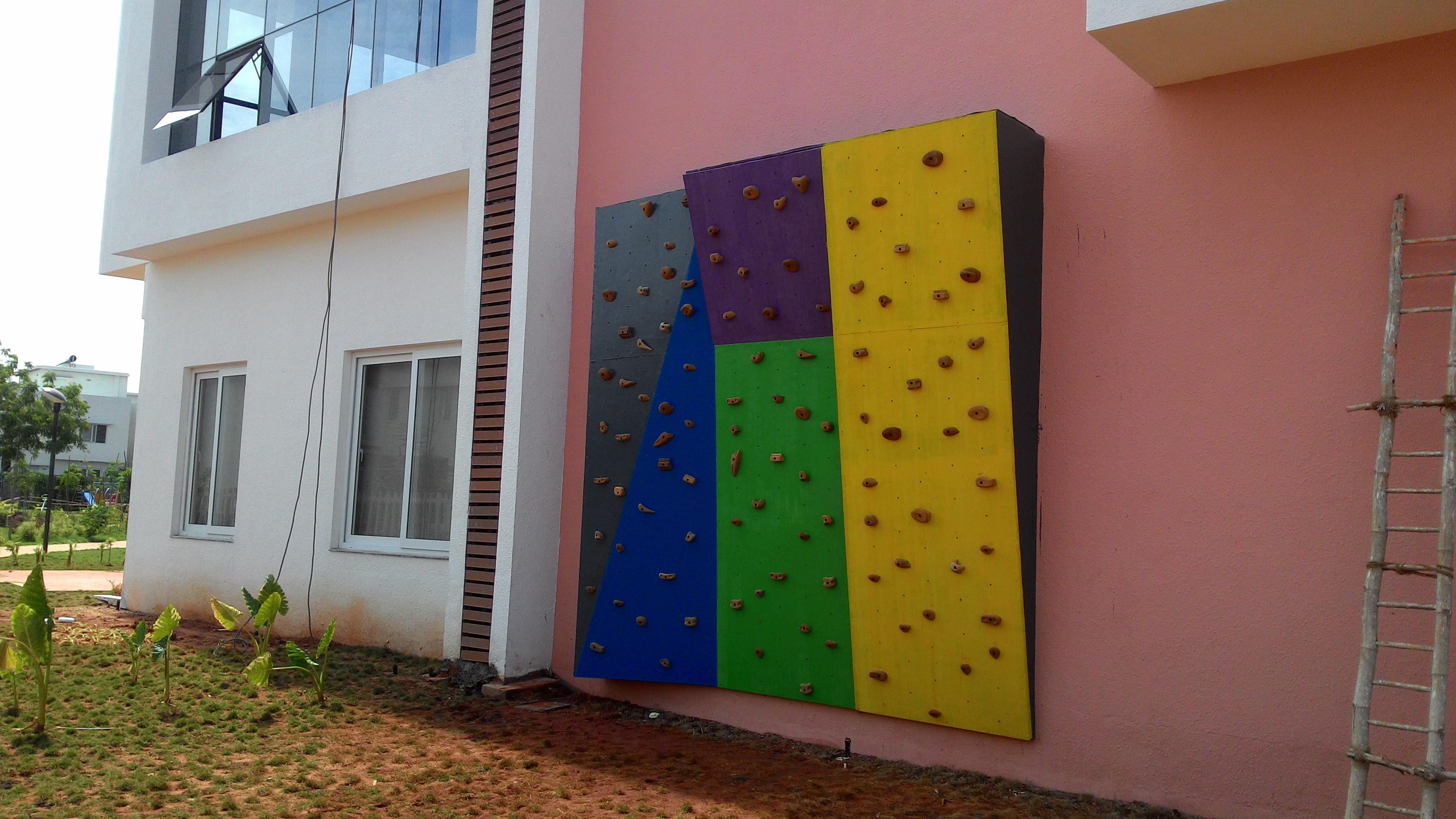 Climbing Wall @ Chennai