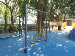 Ropes Course in Playground