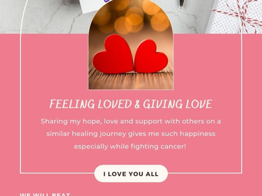 Feeling Loved & Giving Love!