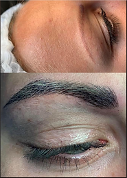 Hva er forskjellen på semi permanent makeup på bryn og mikroblading?