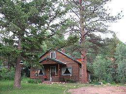 Cascading Creek Log Cabin