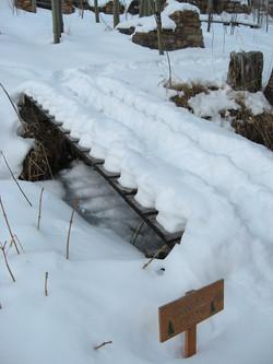 Bunger's Bridge in the winter...burr