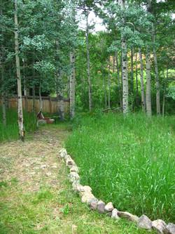 Take the trail creekside...
