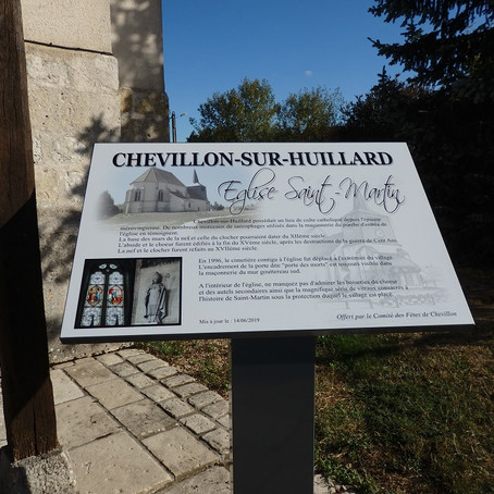12 Septembre-CHEVILLON/HUILLARD