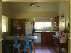Federation house kitchen