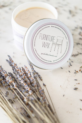 Lavender Scented Furniture Wax