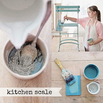 Milk Paint: Kitchen Scale