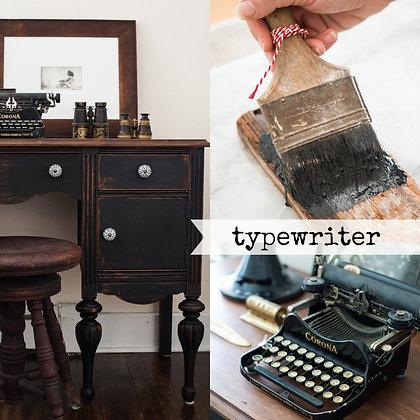 Milk Paint: Typewriter