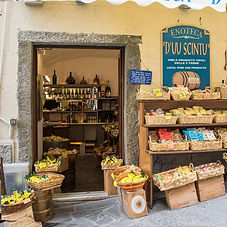 Italian store front - wine shop - Square