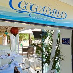 On arrive à Cococabana