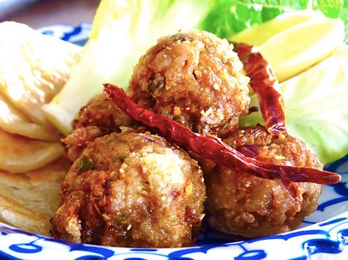 Lard Tord/ Pork meat balls