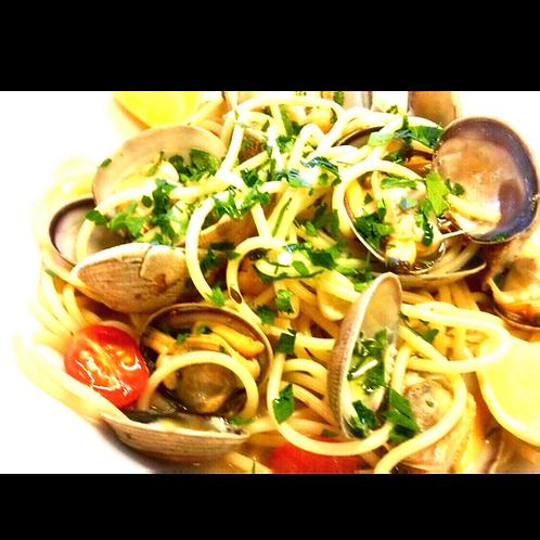 Spaghetti Vongole ou Cozze