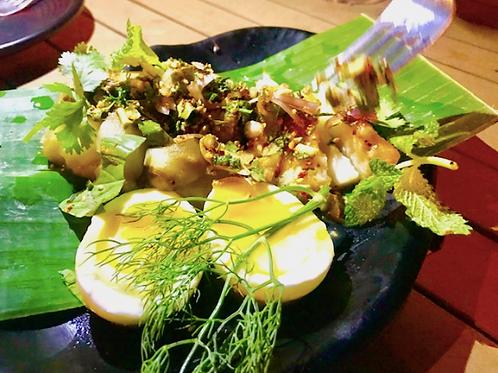 Yam Ma Keu/ eggplant  chili and garlic