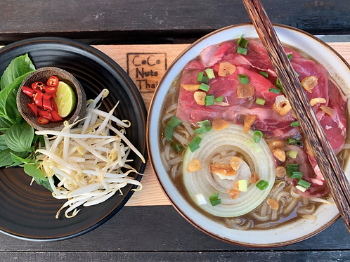 Pho /Rice noodle in beef broth