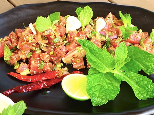 Larb Tuna/ Fresh tuna tartare