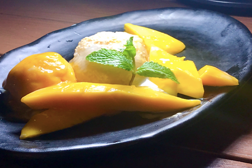 Pudding Ma - Praw / Mango sticky rice