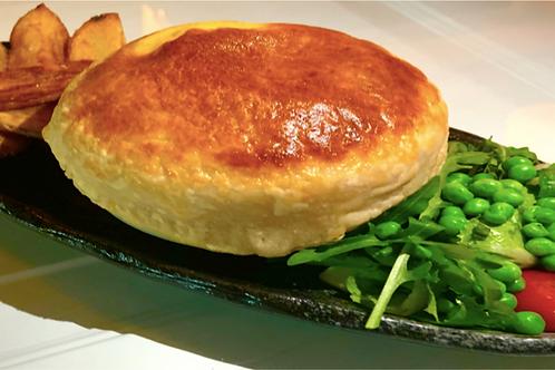 Daube Provençale en crout servic avec sa pommes de terre