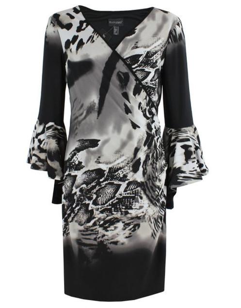 71e5d6aca4b8b Black/Cream Cocktail Dress